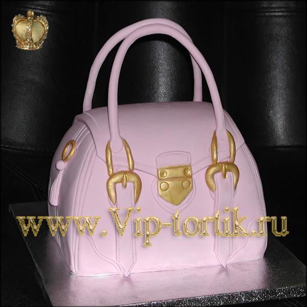детские торты детский торт сумочка.