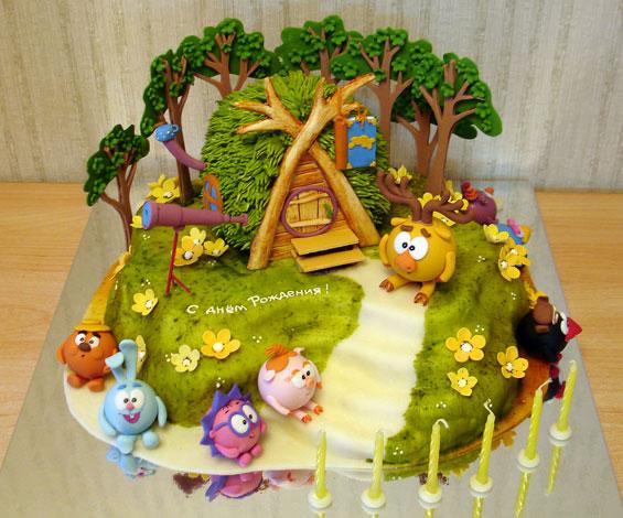 Рецепты с фото тортов для детей соты