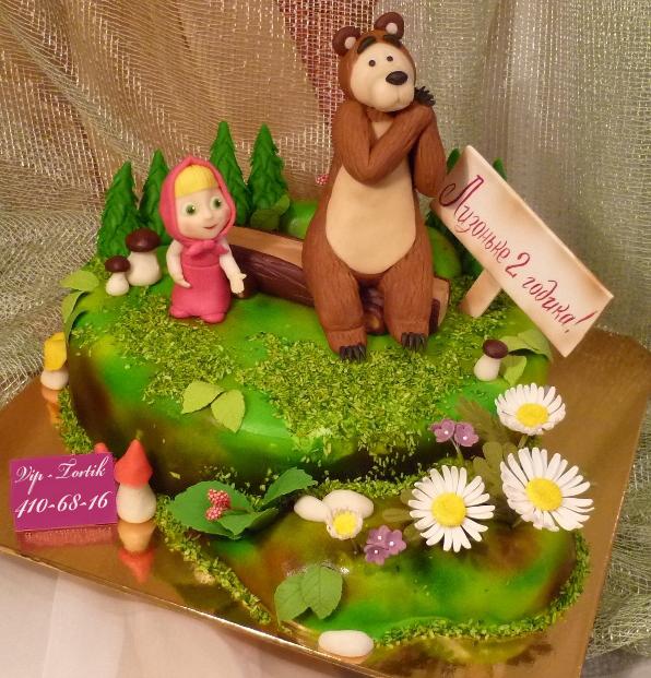 детский торт маша и медведь наша цена.
